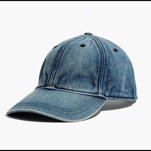 Madewell Denim Baseball Cap Brand New